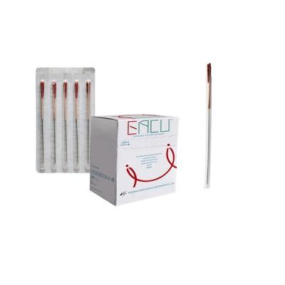 EACU CJ - Agulha Chinesa com tubo guia - cx 100