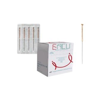 EACU CB - Agulha Chinesa sem tubo guia 0.25x25 - cx 100