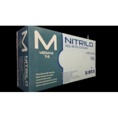 Luvas Descartáveis - Nitrilo - M