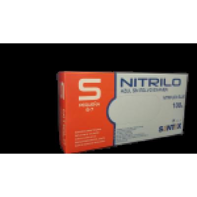 Luvas Descartáveis - Nitrilo - S