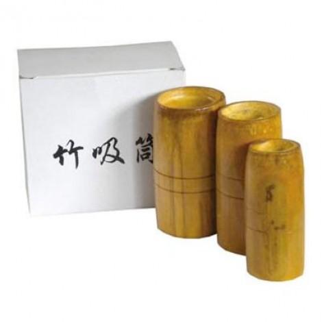 Ventosas em Bambu - 3 Pcs